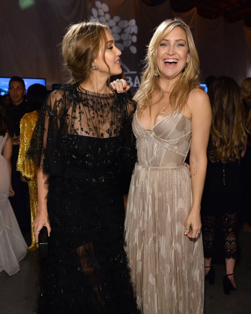 Pictured: Jessica Alba and Kate Hudson