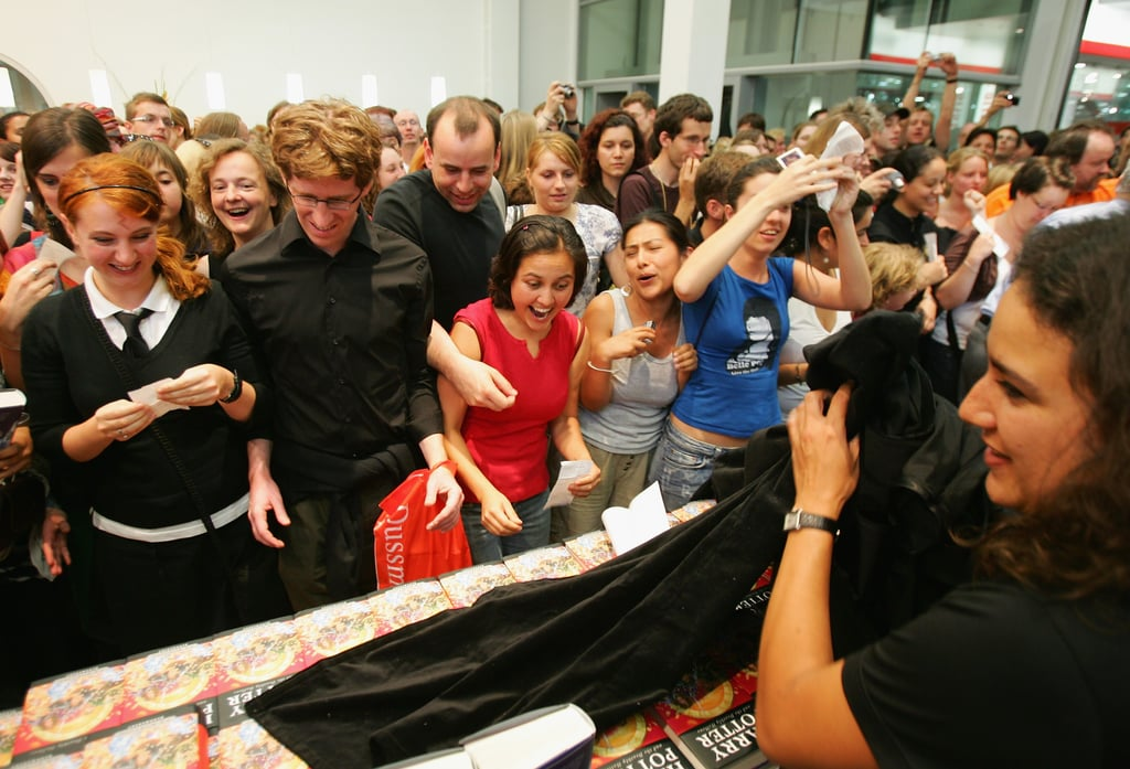When These Fans From Berlin Couldn't Wait to Get Their Own Copy of Harry Potter and the Deathly Hallows