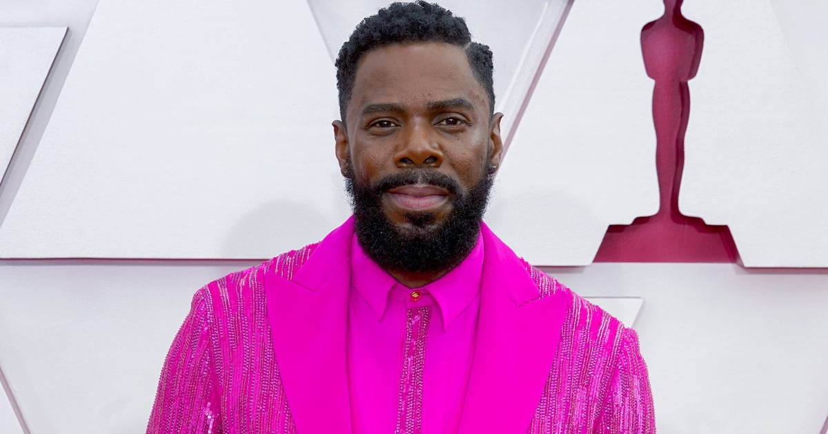 There's Making a Statement, and Then There's Colman Domingo's Hot Pink Suit at the Oscars