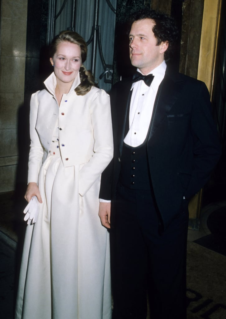 Meryl Streep with husband Don Gummer