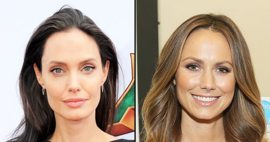 Flashback: Angelina Jolie Once Iced Out Stacy Keibler on Private Jet With Brad Pitt, George Clooney