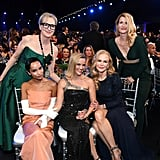 Meryl Streep, Zoë Kravitz, Reese Witherspoon, Nicole Kidman, and Laura Dern at the 2020 SAG Awards
