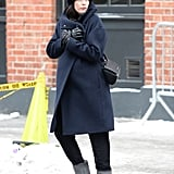 Liv Tyler's baby bump was front and center in NYC on Wednesday.