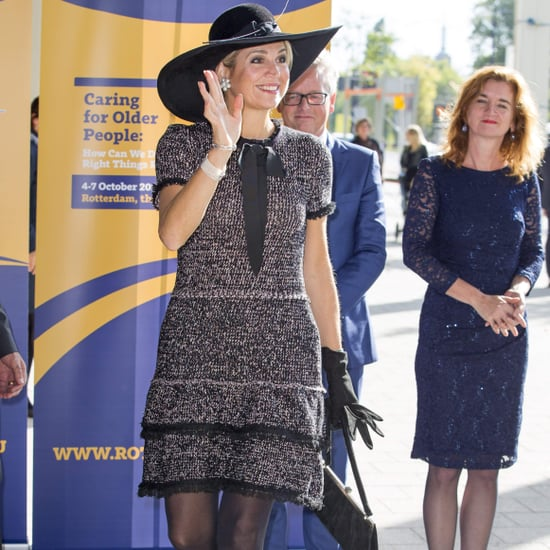 Queen Maxima Wearing a Zara Dress October 2016