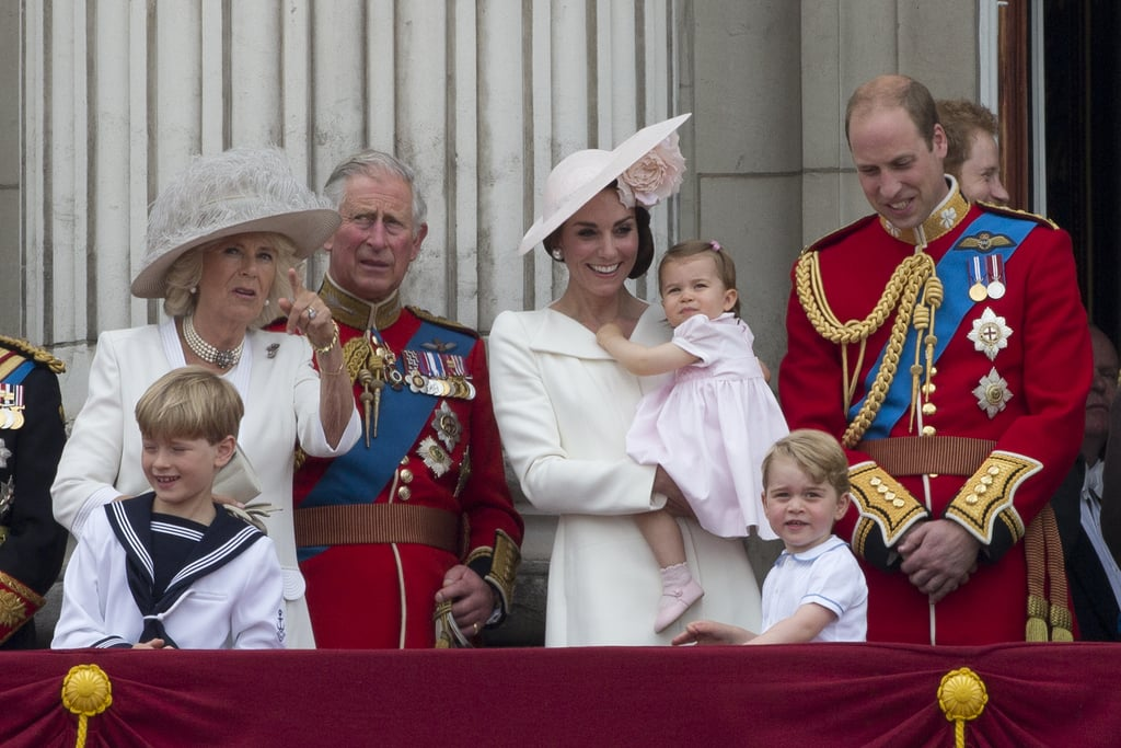 The Royals at Trooping the Colour 2016   Pictures