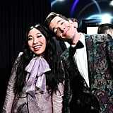 Pictured: Awkwafina and John Mulaney