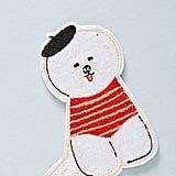 Anthropologie Bichon Sticker Patch
