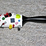 Use a lint-roller to clean up small supplies.