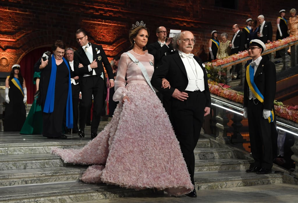 Sweden's Princesses at the Nobel Prize Banquet 2016