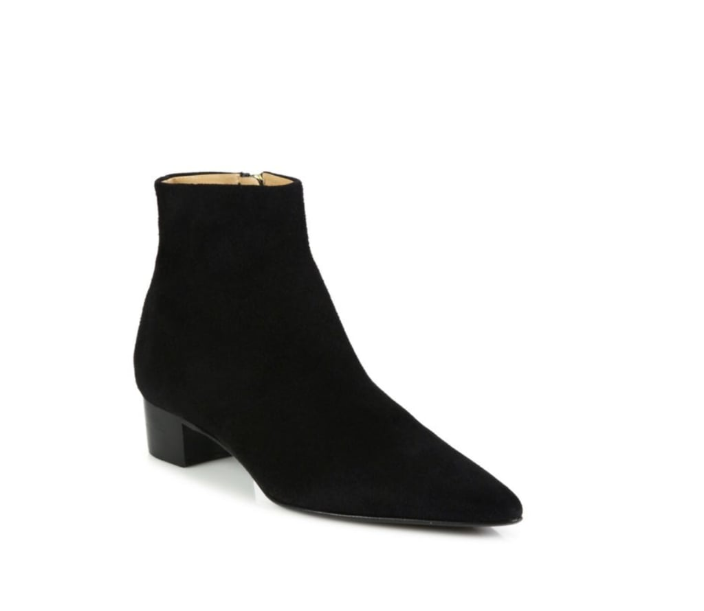 The Row Ambra Suede Booties