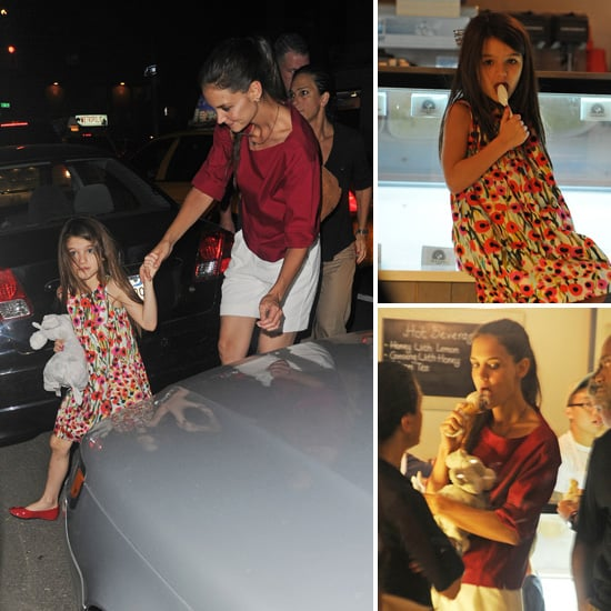 Katie Holmes and Suri Cruise Pictures Getting Ice Cream in NYC After Tom Cruise Divorce News