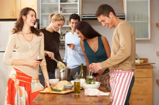 The How-To Lounge: Hosting a Last Minute Dinner Party