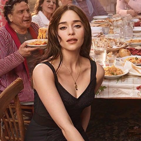 Emilia Clarke Kit Harington Dolce Gabbana Fragrance Campaign