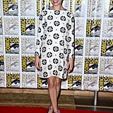 Michelle Williams worked a sweet mod look in Giulietta at Comic-Con.