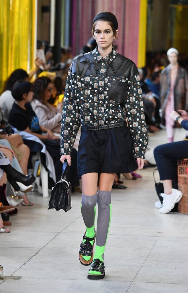 8f5d5951715 Kaia Gerber at Fashion Week Spring 2018