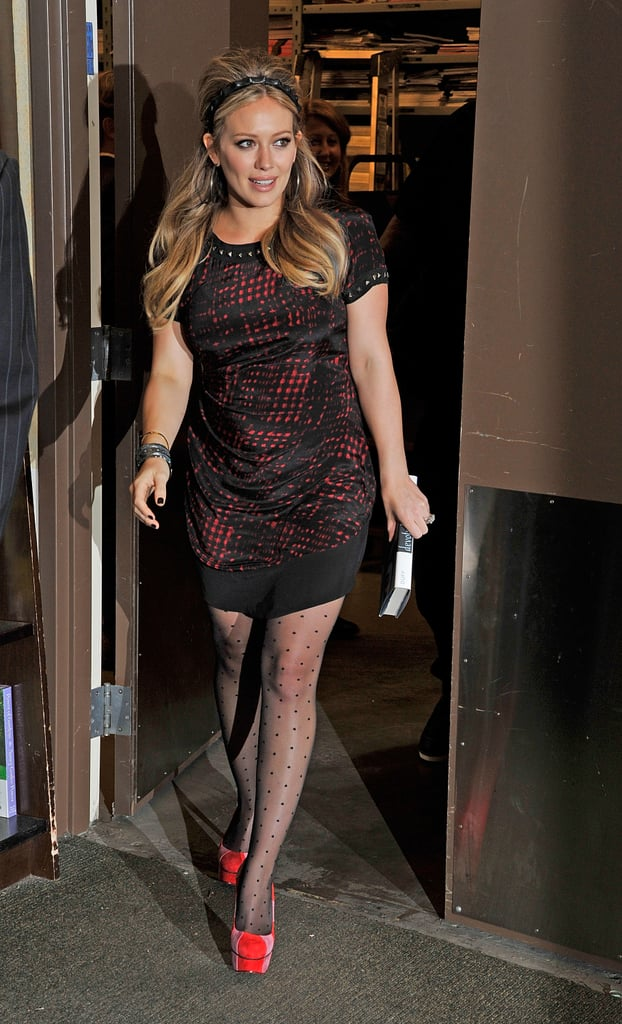 Hilary Duff's Sweet Stilettos