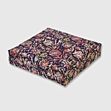 Watercolor Dahlia Outdoor Deep Seat Cushion
