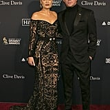Jessie J and Channing Tatum at Clive Davis's 2020 Pre-Grammy Gala in LA