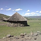 Garfors received yet another marriage proposal while he was in Lesotho. A mother proposed on behalf of her daughter, and if Garfors had accepted, he would have lived in a hut like this with the possibility of becoming the chief of the village.