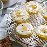 Spaghetti Squash Egg Baskets