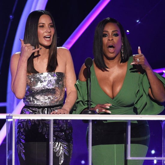 Olivia Munn and Niecy Nash Presenting at the 2018 SAG Awards