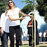 Gisele Bundchen Goes Baggy For Her Environmental Trip to Brazil