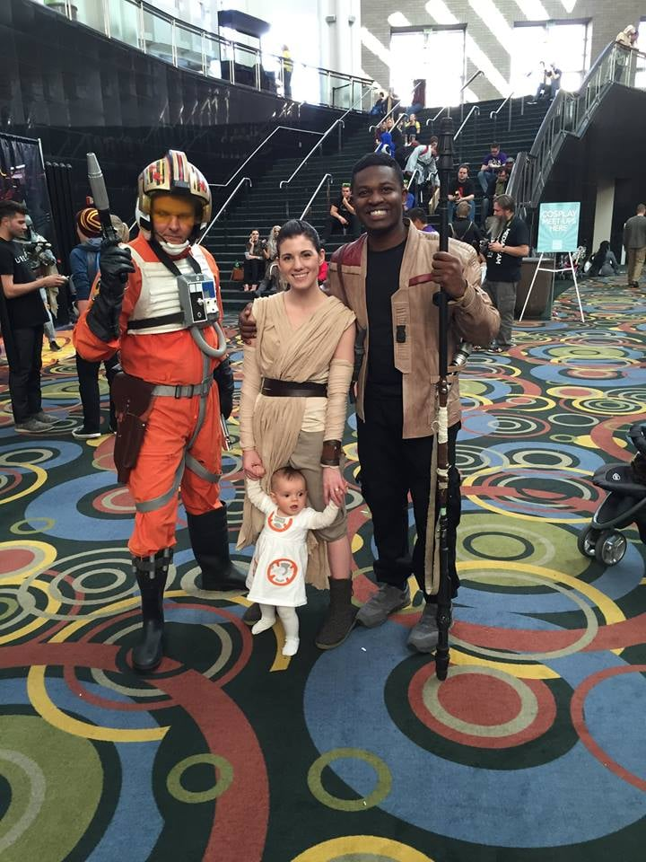 A final meeting with Poe Dameron.