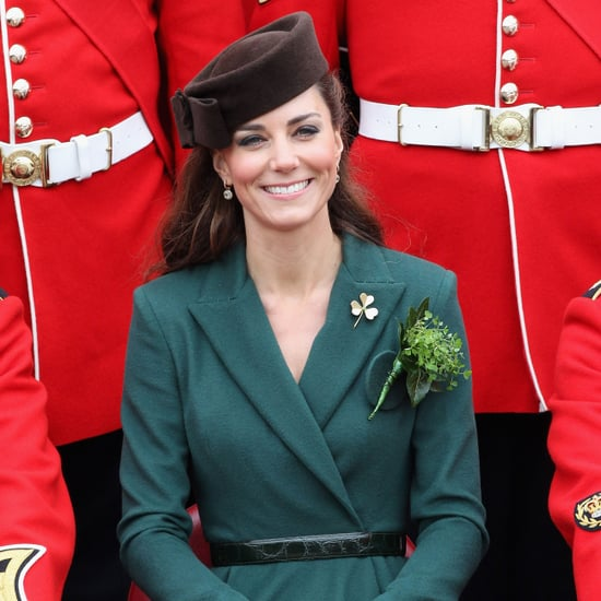 Kate Middleton St. Patrick's Day in England Pictures
