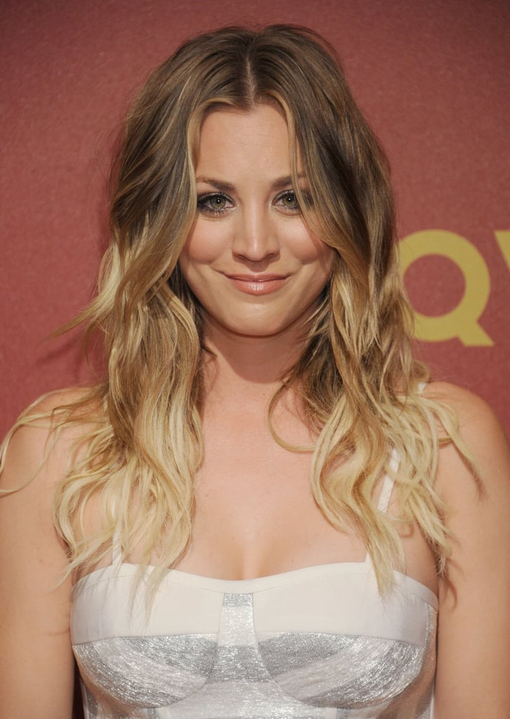 Kaley Cuoco Celebrities With Long Hairstyles For Summer