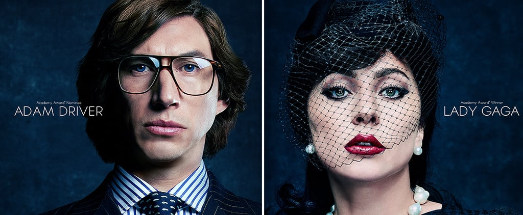 Lady Gaga and Adam Driver Stun in House of Gucci Posters