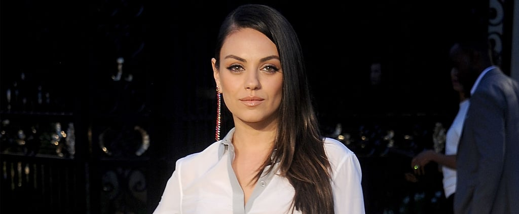 Mila Kunis Steps Out Solo For a Fashionable LA Event