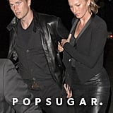 Gisele Bündchen and Tom Brady made a rare appearance out on the town in LA last night.