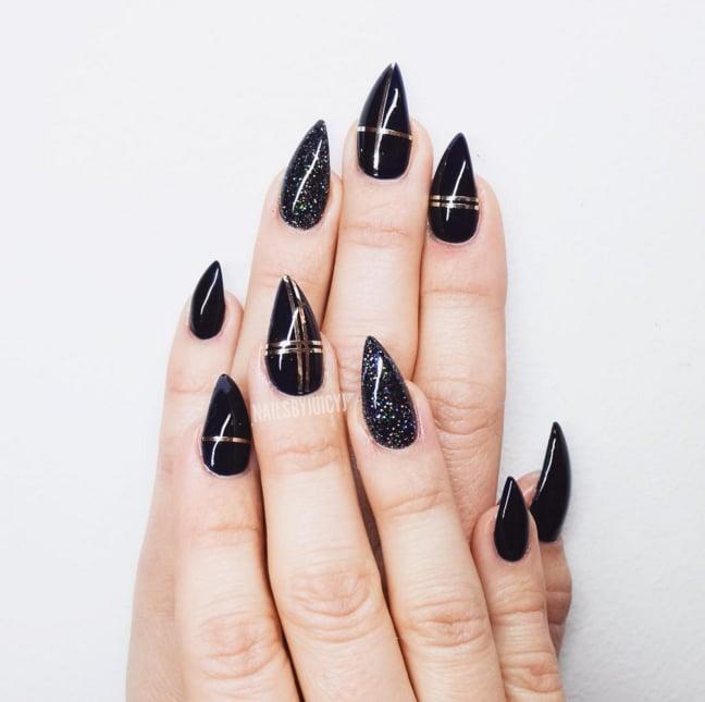 Grunge Nails Popsugar Beauty