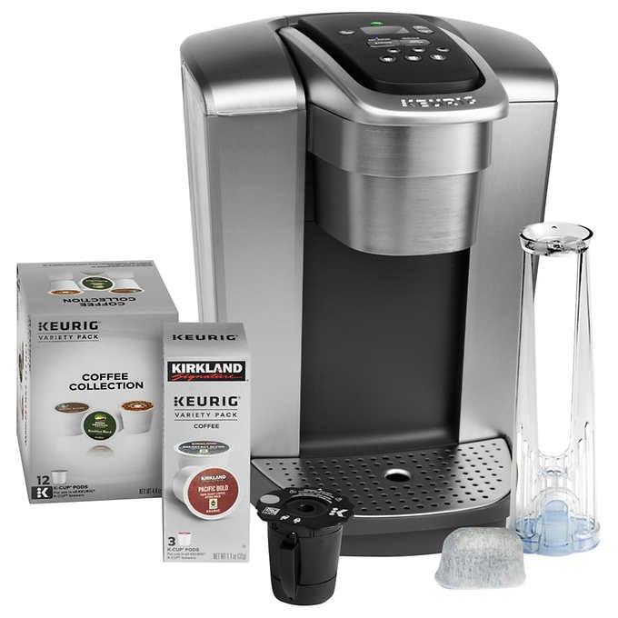 Keurig K-Elite Single Serve Coffee Maker Bundle | Costco