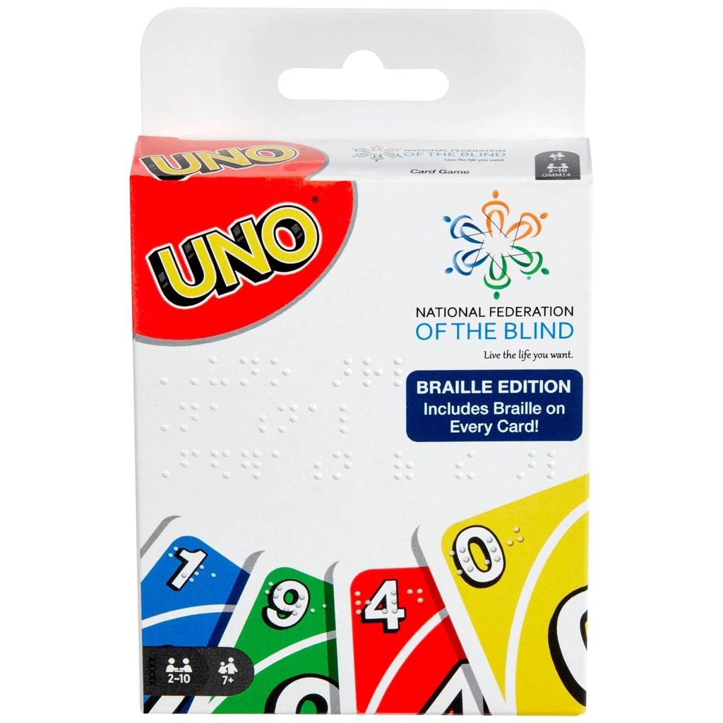 Uno Braille Card Game