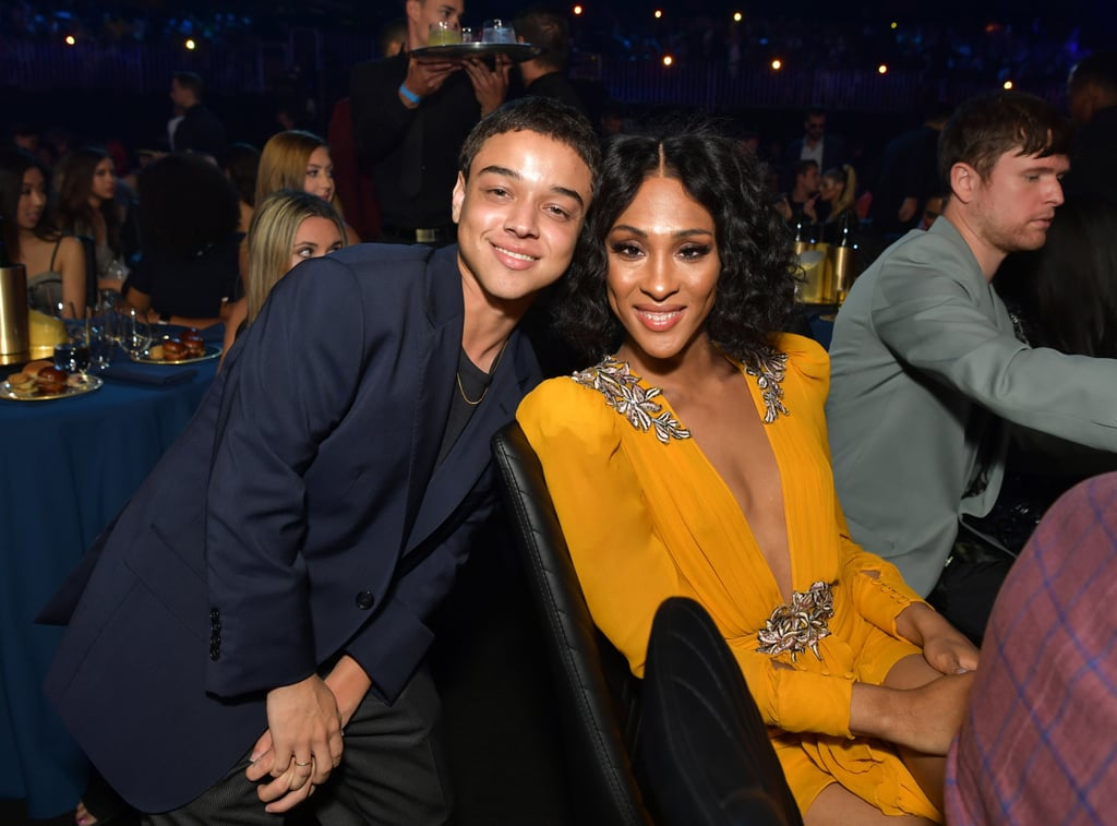 Jason Genao and Mj Rodriguez at the 2019 MTV Movie and TV Awards