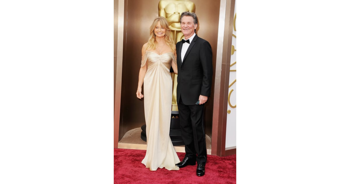 X Out Image >> Goldie Hawn and Kurt Russell | The Stars Come Out For the Oscars Red Carpet! | POPSUGAR ...