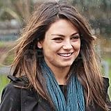 Pictures of Mila Kunis Having Lunch With a Friend in LA