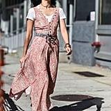 Caroline Issa at New York Fashion Week