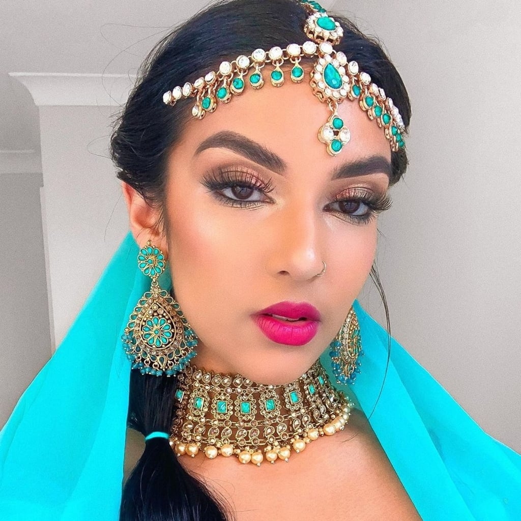 Rowi Singh's Disney Princess Makeup on Instagram