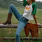 BDG Girlfriend High-Rise Longline Jeans
