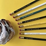 Rude Schitt's Creek Pencil Set on Etsy