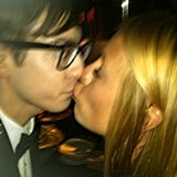 """Cat Deeley posted this pic of Kevin McHale with one word: """"Yes."""" Source: Twitter user catdeeley"""