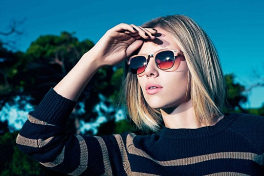 Scarlett Johansson in Mango's Spring 2011 Ad