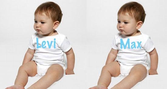 Popular Celebrity Baby Names 2008-07-21 05:00:12