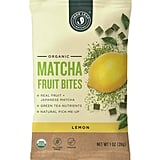 Lemon Matcha Fruit Bites