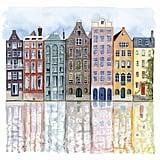 Neighbourhood I Painting on Canvas