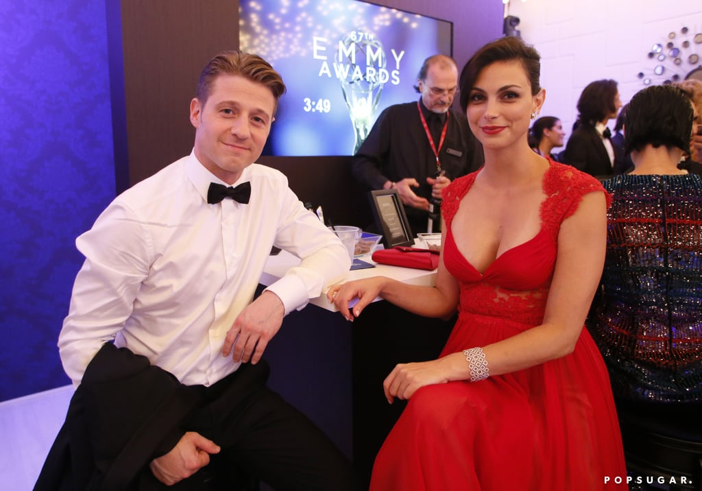 It looks like love is in the air for these Gotham stars! On Monday, People reported that Ben McKenzie's romance with Morena Baccarin goes beyond the TV screen after a source revealed that the two stars are officially an item. While neither Ben nor Morena has confirmed the rumors, they did step out together at the Fox party after Sunday's Emmy Awards.  Morena, who has also starred on Homeland, split from her husband of three years, Austin Chick, in July, when Austin served her with divorce papers. The couple have a nearly 2-year-old son together, Julius.