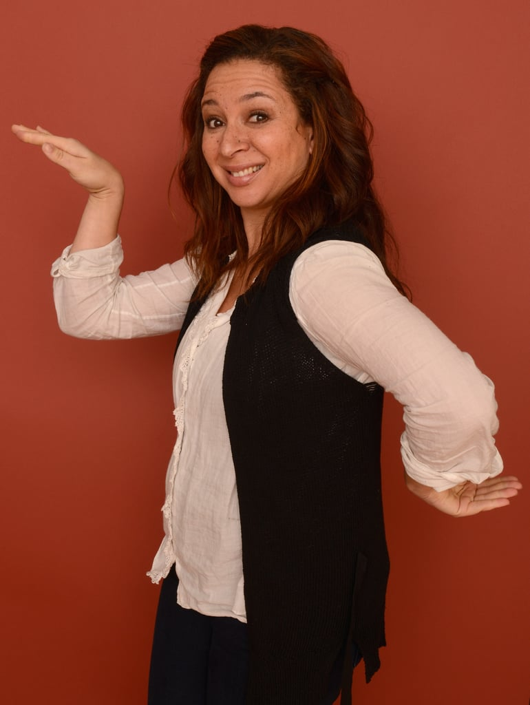 Maya Rudolph goofed around during The Way, Way Back cast portraits at Sundance 2013.