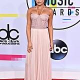 Lea Michele J. Mendel Dress at American Music Awards 2017